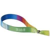 1PL01301f Evi - kolorowa bransoletka festiwalowa z metalu
