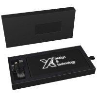 1PX02100f Solarny podświetlany powerbank SCX.design P30 z grawerem