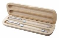 883080c zestaw piśmienniczy drewno jasne