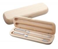 AP808830c zestaw piśmienniczy drewno jasne
