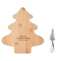 1477x-40 Zestaw deska z nożykiem w kształcie choinki