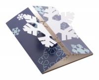 865871c-A Karta/kartka świąteczna - płatek śniegu