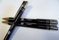 19566a długopis metalowy błyszczący