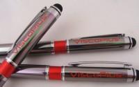 19567a długopis touch pen z kolorowym elementem na korpusie