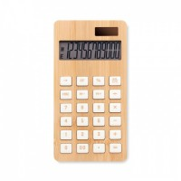 6216m-40 12-cyfrowy kalkulator, bambus
