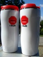 82250p-08 Kubek izotermiczny 350 ml, czerwony