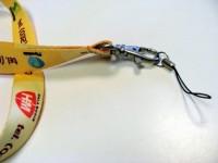 30KT2 Smycz reklamowa 30mm, karabińczyk, uchwyt na telefon, nadruk dwustronny, pełny kolor