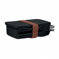 6254m-03 PP Lunch box with cultery