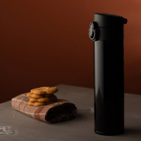 84260p-02 Kubek izotermiczny 350 ml, czarny