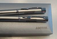 GAMMA Z1 srebrne pióro i długopis w etui GAMMA Z1 srebrne pióro i długopis w etui