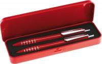 2618q 2618q długopis i ołówek w metalowym opakowaniu