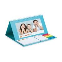 CAL002 kalendarz biurkowy ze zdobieniem full color + 1 kolor na karteczkach CAL002 kalendarz biurkowy ze zdobieniem full color + 1 kolor na karteczkach