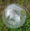 10037001f Przezroczysta piłka plażowa Ibiza z normą EN71