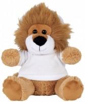 10221600f Pluszowy lew w koszulce