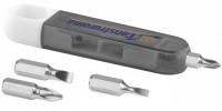 10423500f 4-funkcyjny zestaw śrubokrętów w obudowie