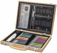 10607200f Zestaw do malowania i rysunku 67-częściowy