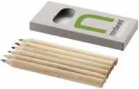 10621900f Zestaw 6 kredek ołówkowych