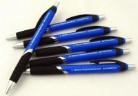 10671300f Długopis z gumowym akcentem