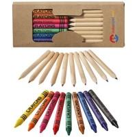 10678800f komplet kredek ołówkowych i świecowych