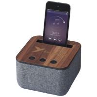 10831300f Materiałowo-drewniany głośnik Bluetooth®