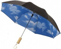 """10909300f 2-częściowy automatyczny parasol Blue Skies o średnicy 21"""""""