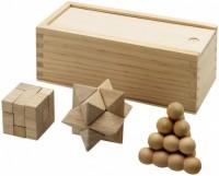 11002900 Zestaw łamigłówek drewnianych Braniac