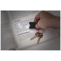 11809500f Brelok do kluczy z latarką i lupą Zoomy