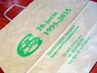 Torba papierowa BEŻ 40x14x40 cm Torba papierowa BEŻ 40x14x40 cm