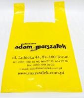Reklamówka KOSZULKA 35x55 cm KOLOR Reklamówka KOSZULKA 35x55 cm KOLOR
