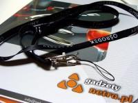 10KZT2 Smycz reklamowa 10mm, karabińczyk, złączka, uchwyt na telefon, nadruk dwustronny, pełny kolor