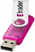 12351600f Pamięć USB Rotate transculent 2GB