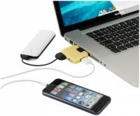 12359805f Rozdzielacz USB Gaia 4-portowy