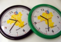 501-zegar Zegar ścienny w obudowie