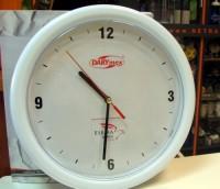 501-zegar Zegar ścienny z indywidualna tarczą w kolorowej obudowie